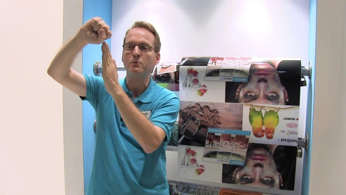 Andy Cave talks about the business benefits of using Bellissima DMS Ultra HD Screening for flexo printing