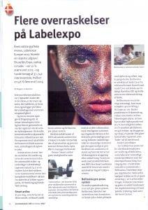 Flere overraskelser på Labelexpo | More surprises at Labelexpo - Bellissima Digitally Modulated Screening