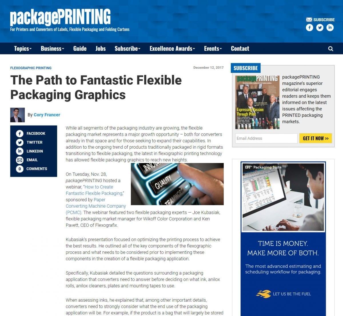 Ultra HD Flexo printing flexible packaging labels screening Bellissima DMS