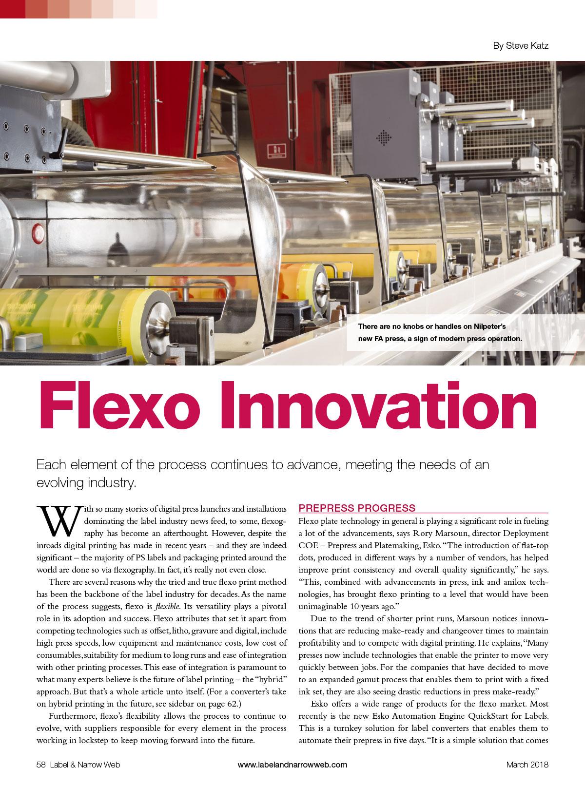 Flexo Innovation - Label Narrow Web - Best Full Ultra HD Flexographic Screening