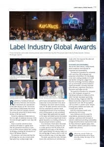 Label Industry Global Awards 2018 - Hamillroad Software - Bellissima DMS - Innovation - Flexo - HD Quality