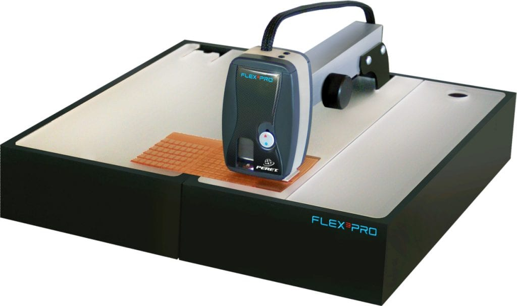 The FLEX³PRO flexo plate analyzer.